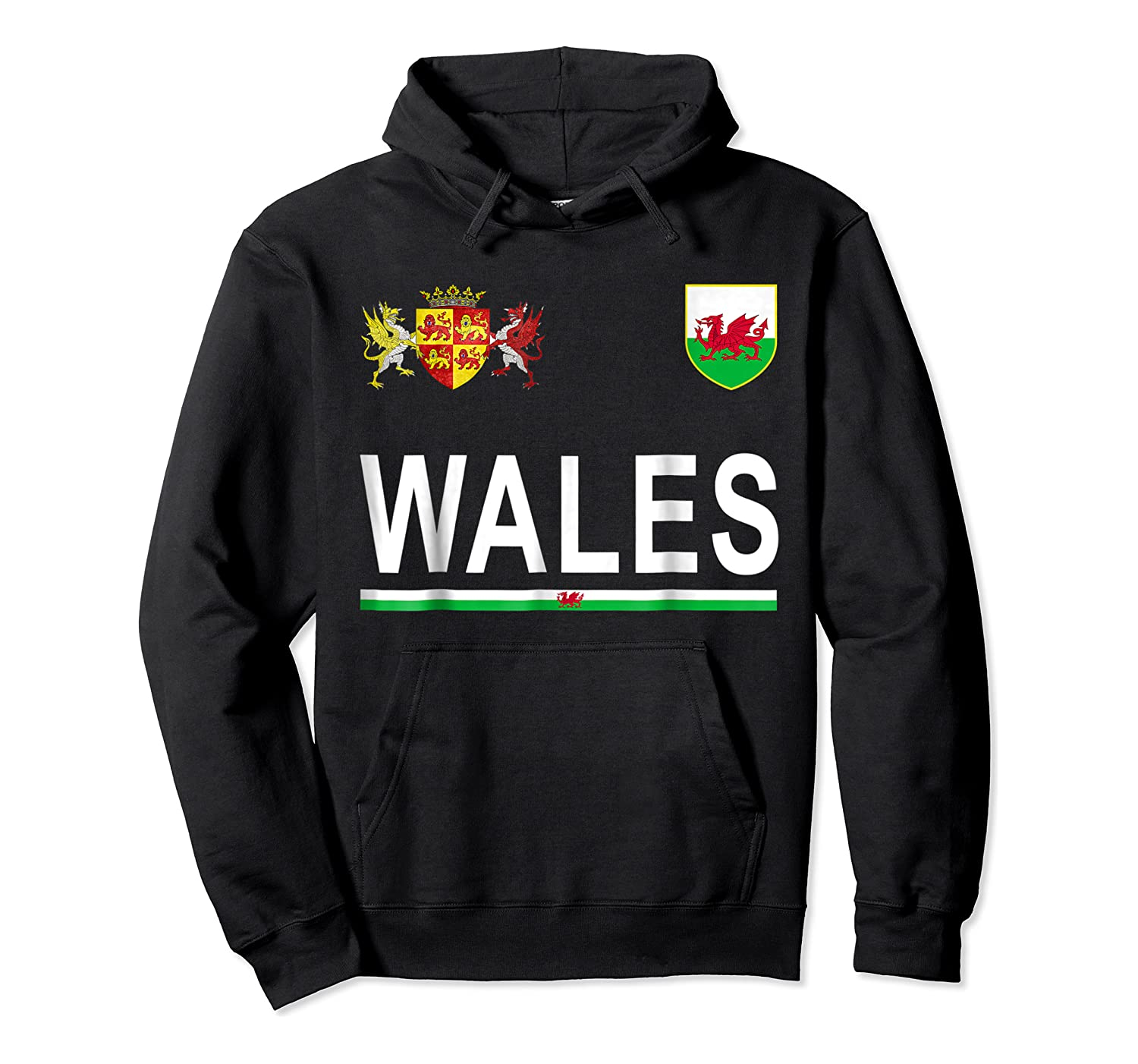 Wales Cheer 2017 Football Welsh Shirts Unisex Pullover Hoodie