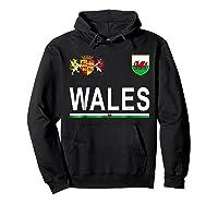 Wales Cheer 2017 Football Welsh Shirts Hoodie Black