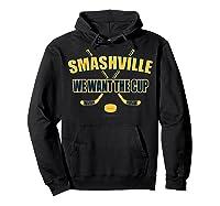 Smashville Nashville Proud Hockey Shirts Hoodie Black