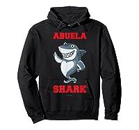 Abuela Shark Tshirts: Funny Spanish Gift T-shirt Hoodie Black