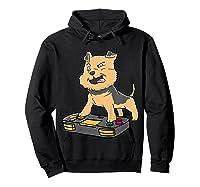 Airedale Terrier Gamer Gaming Videogames Kawaii Gift T-shirt Hoodie Black