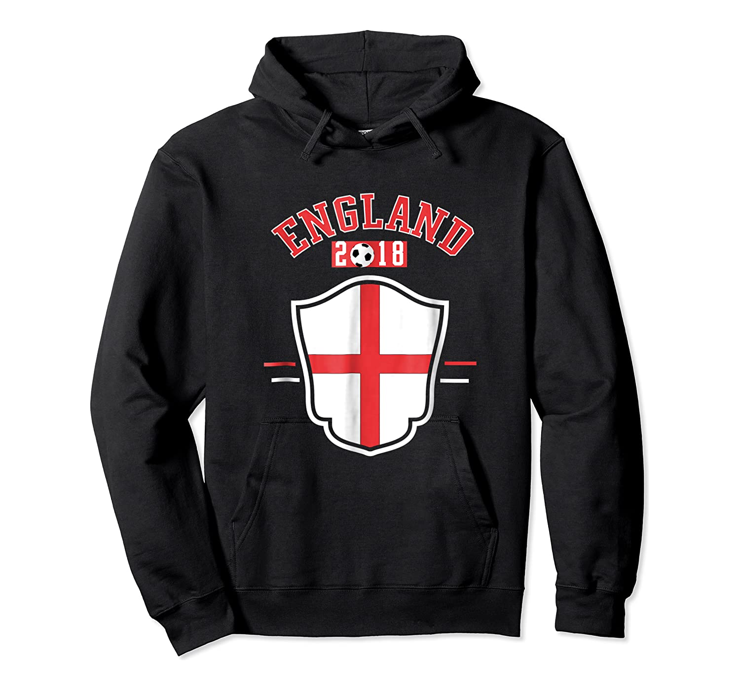 England Soccer English Flag Football Gift Shirts Unisex Pullover Hoodie
