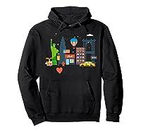 Love New York City Ny Tourist Souvenir Gift Shirts Hoodie Black