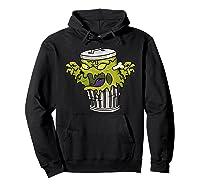 Garbage Monster Funny Gift Halloween Shirts Hoodie Black