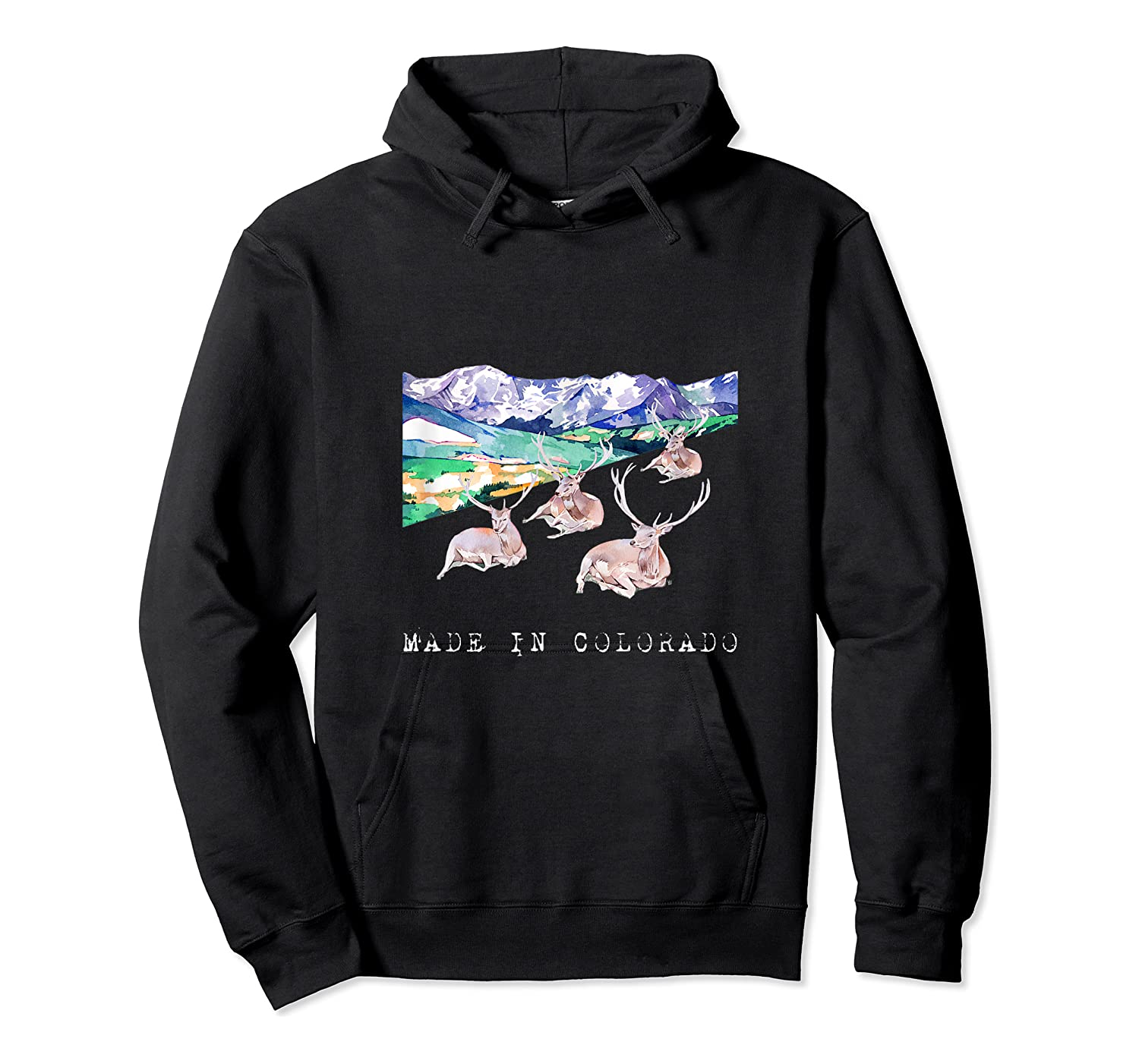 Made In Colorado Shirts Unisex Pullover Hoodie