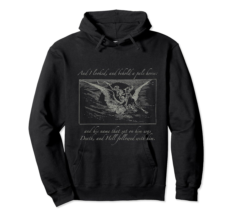 Apocalypse 4 Horse Revelation Tshirt Unisex Pullover Hoodie