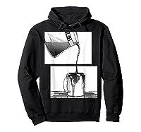 Manga Coffee Break Shirts Hoodie Black