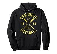 San Diego Baseball Vintage Padre Retro Gift Shirts Hoodie Black