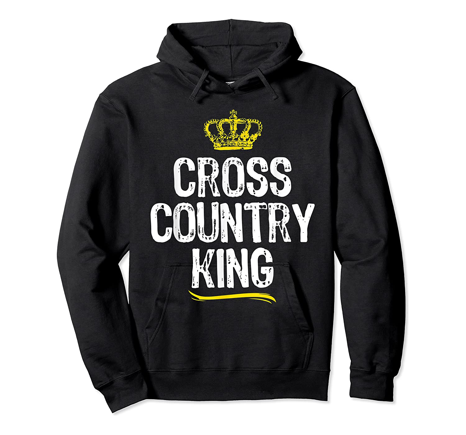 Cross Country King Running Runner Funny Cool Gift T-shirt Unisex Pullover Hoodie