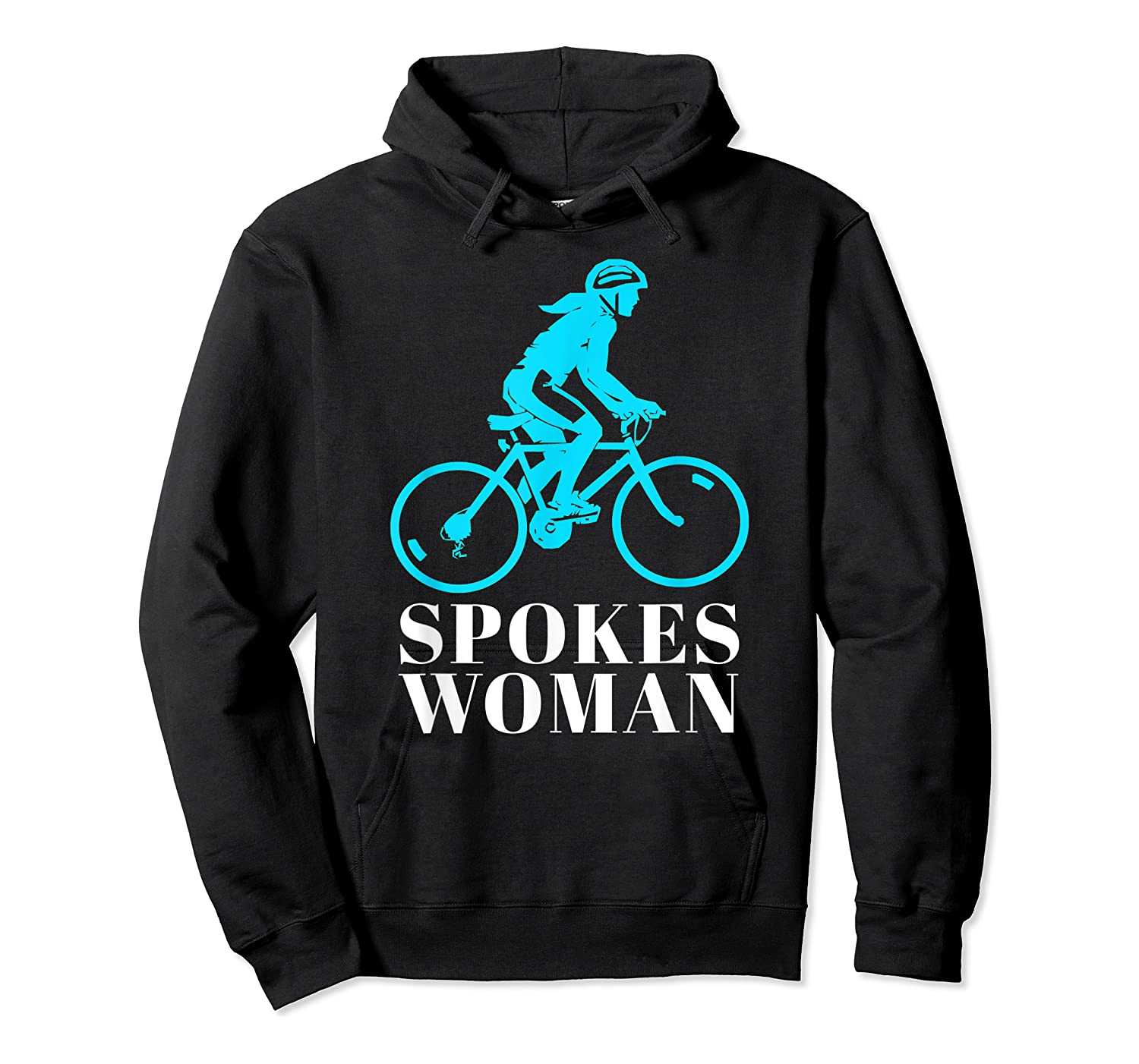 Spokes Woman Cycling Shirts Unisex Pullover Hoodie