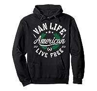 Van Dweller Clothing & Van Life Apparel - Van Life Premium T-shirt Hoodie Black