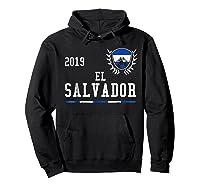 El Salvador Football 2019 Salvadorean Soccer T-shirt Hoodie Black