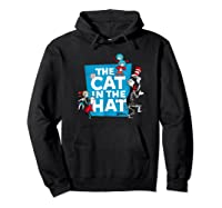 Dr Seuss The Cat In The Hat Characters Shirts Hoodie Black