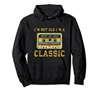 Vintage Cassette I\\\'m Not Old I\\\'m A Classic 1992 27th Tank Top Shirts Hoodie Black