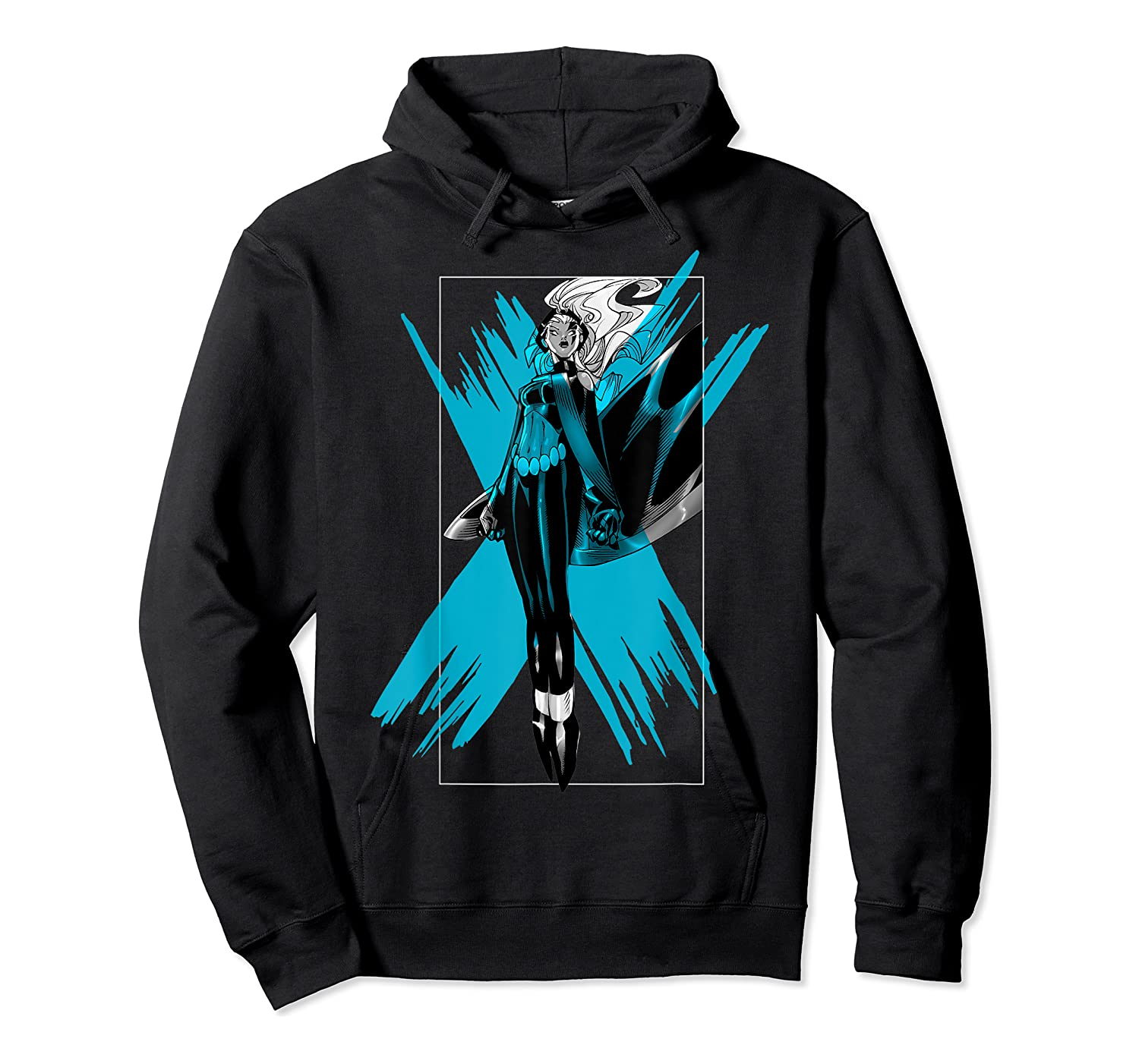 Marvel X- Storm Color Pop Box Graphic T-shirt Unisex Pullover Hoodie