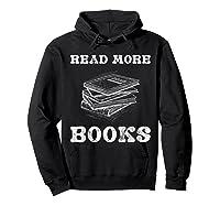 Read More Books English Tea School Reading Gift Shirts Hoodie Black