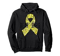 Inspirational Beat Dipg T-shirt - Dipg Awareness Hoodie Black