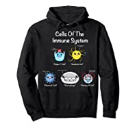 Immune System Cells Biology Cell Science Humor Immunologist Shirts Hoodie Black