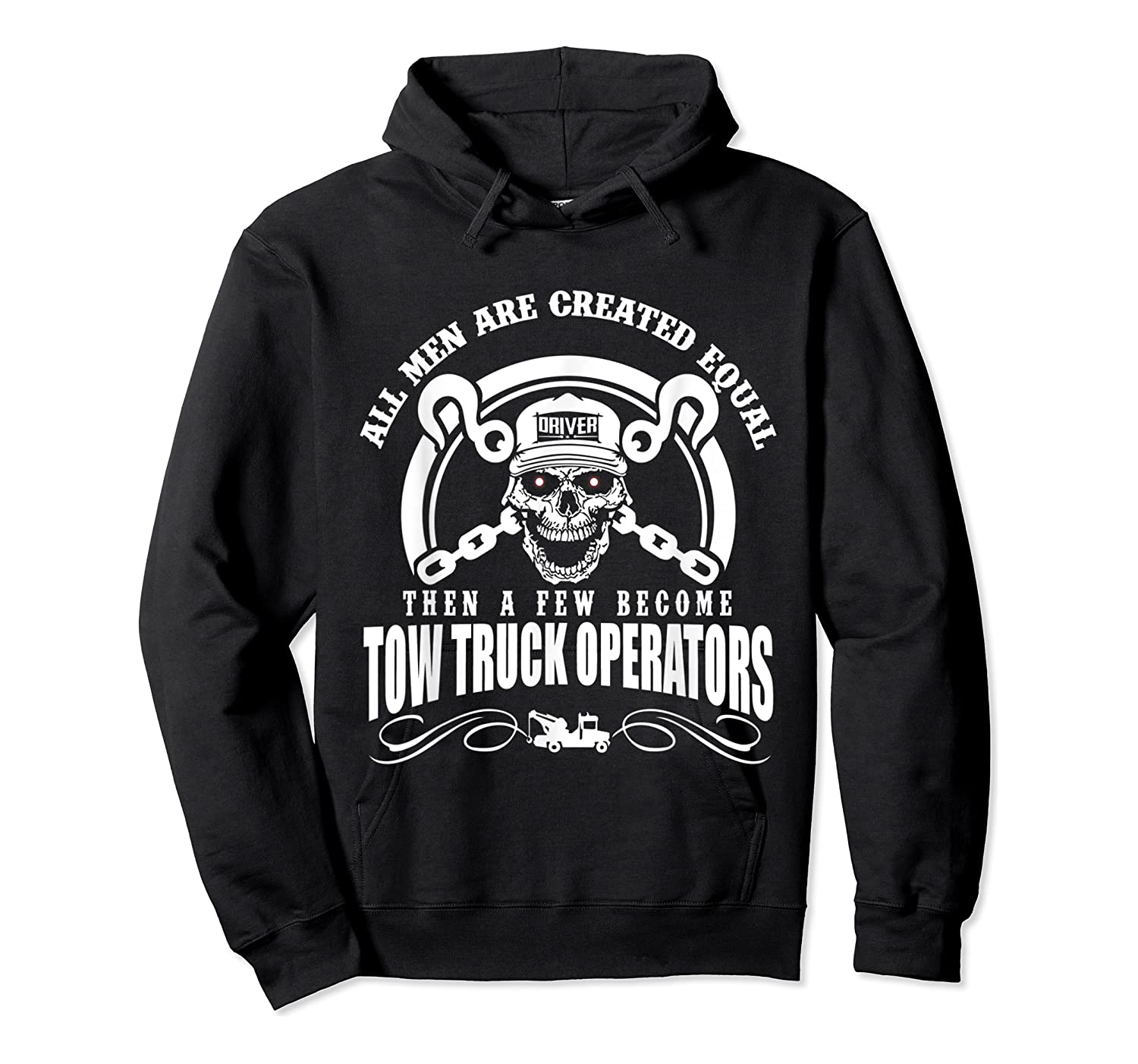 Tow Truck Operator Shirts Unisex Pullover Hoodie