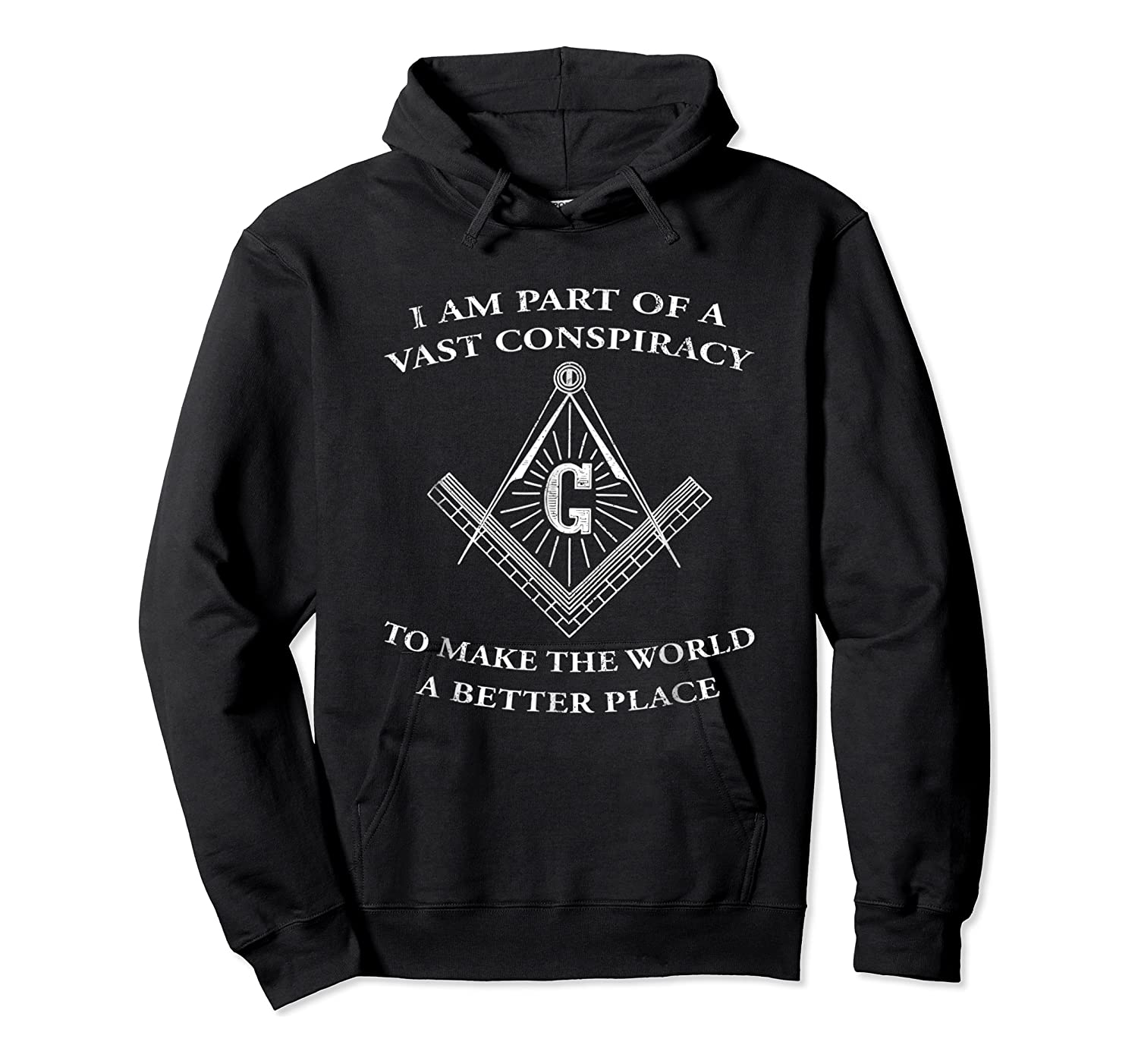 Vast Conspiracy To Make The World A Better Place Mason Shirts Unisex Pullover Hoodie