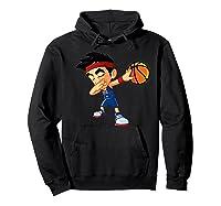 Dabbing Basketball Boy Player Australia Flag Funny Dab Dance Premium T-shirt Hoodie Black