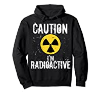 Radiation Therapy Funny Cancer Get Well Soon Gift Survivor T-shirt Hoodie Black