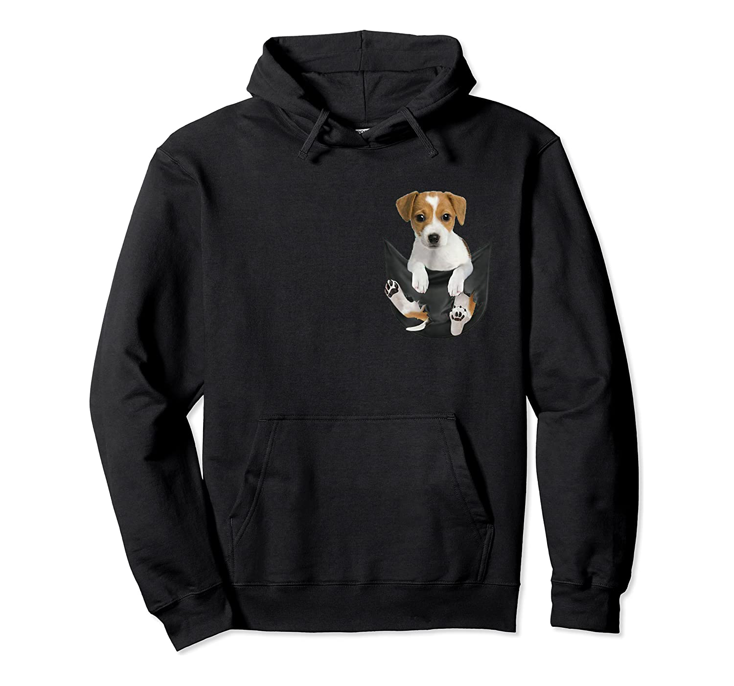 Jack Russell In Pocket Hot Trend Shirts Unisex Pullover Hoodie