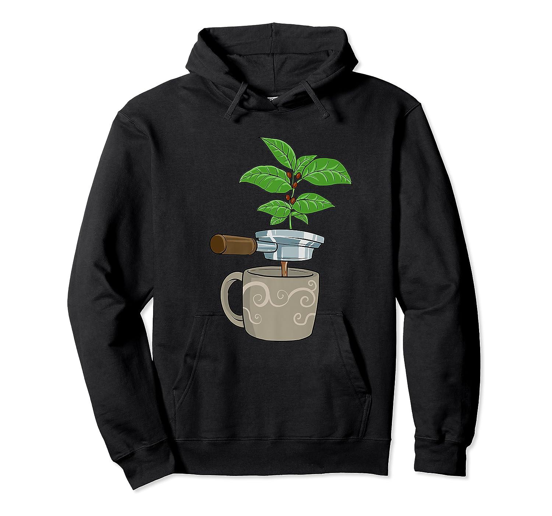 Coffee Plant Espresso Machine For Coffee Drinker Shirts Unisex Pullover Hoodie