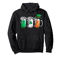 Irish Beer Ireland Flag St Patricks Day Leprechaun Shirts Hoodie Black