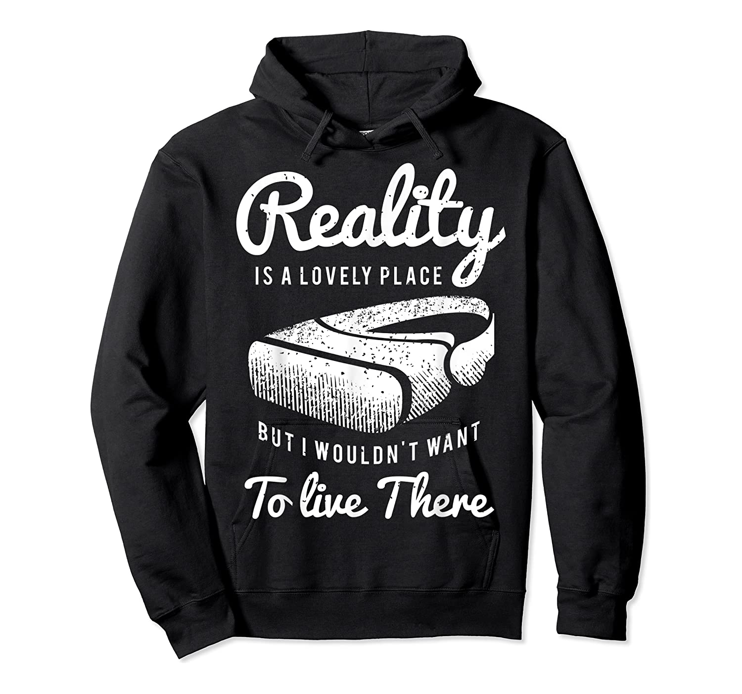 Virtual Reality Hmd Interactive Game Vr Headset Shirts Unisex Pullover Hoodie