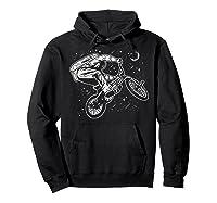 Astro Bike Astronaut Bmx Geschenk Shirts Hoodie Black