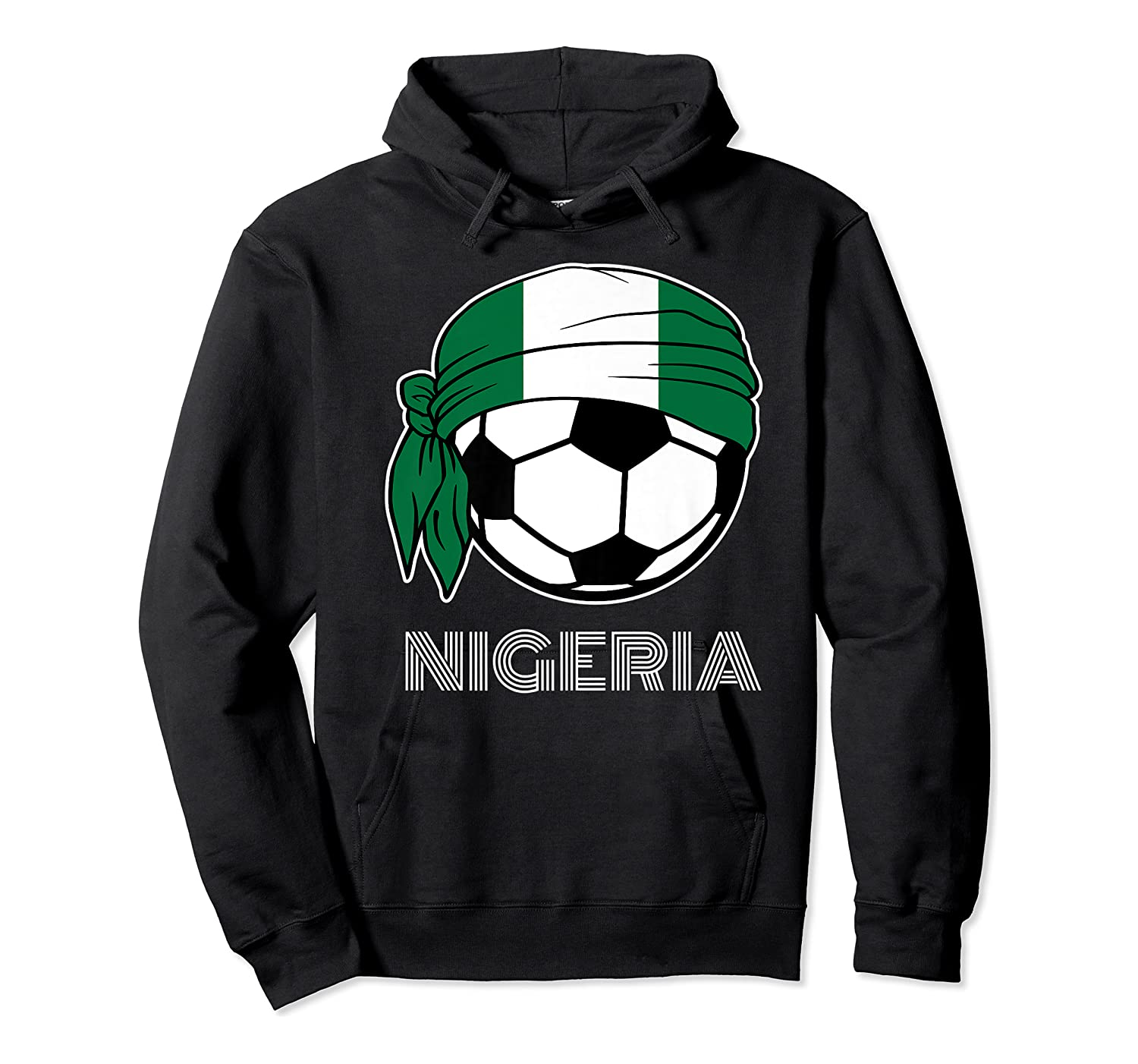 Nigeria Soccer 2019 Super Eagles Fans Kit Football Shirts Unisex Pullover Hoodie