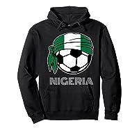 Nigeria Soccer 2019 Super Eagles Fans Kit Football Shirts Hoodie Black