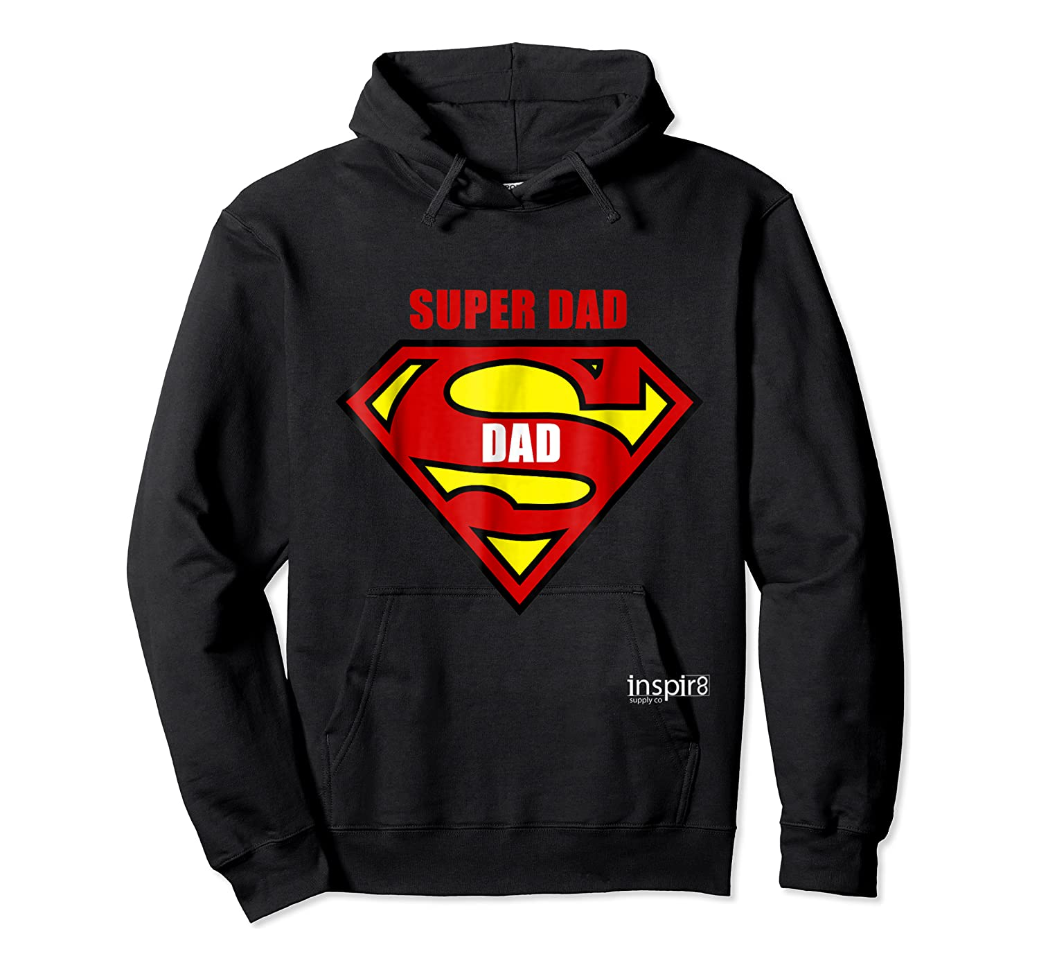 Super Dad By Inspir8 Movet Shirts Unisex Pullover Hoodie