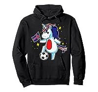Soccer Unicorn Iceland Design Iceland Football Gift Shirts Hoodie Black