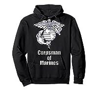 Back Design 8404 Fmf Corpsman Military Veteran Shirts Hoodie Black