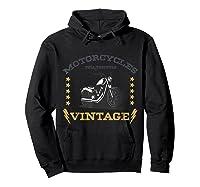Vintage Motorcycle Bike Rocker Bike Club T-shirt Hoodie Black
