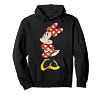 Mickey And Friends Minnie Mouse Traditional Portrait Shirts Hoodie Black