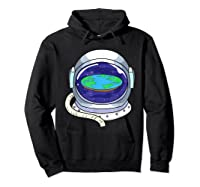Flat Earth Map Design For A Flat Earth Society Shirts Hoodie Black