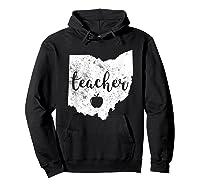 Red For Ed T-shirt Ohio Tea Public Education Hoodie Black
