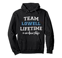 S Team Lowell Groom Squad Custom Bachelor Party Wedding T-shirt Hoodie Black