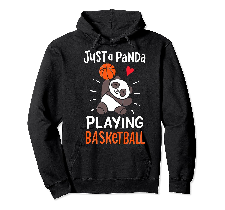 Basketball Panda Premium T-shirt Unisex Pullover Hoodie