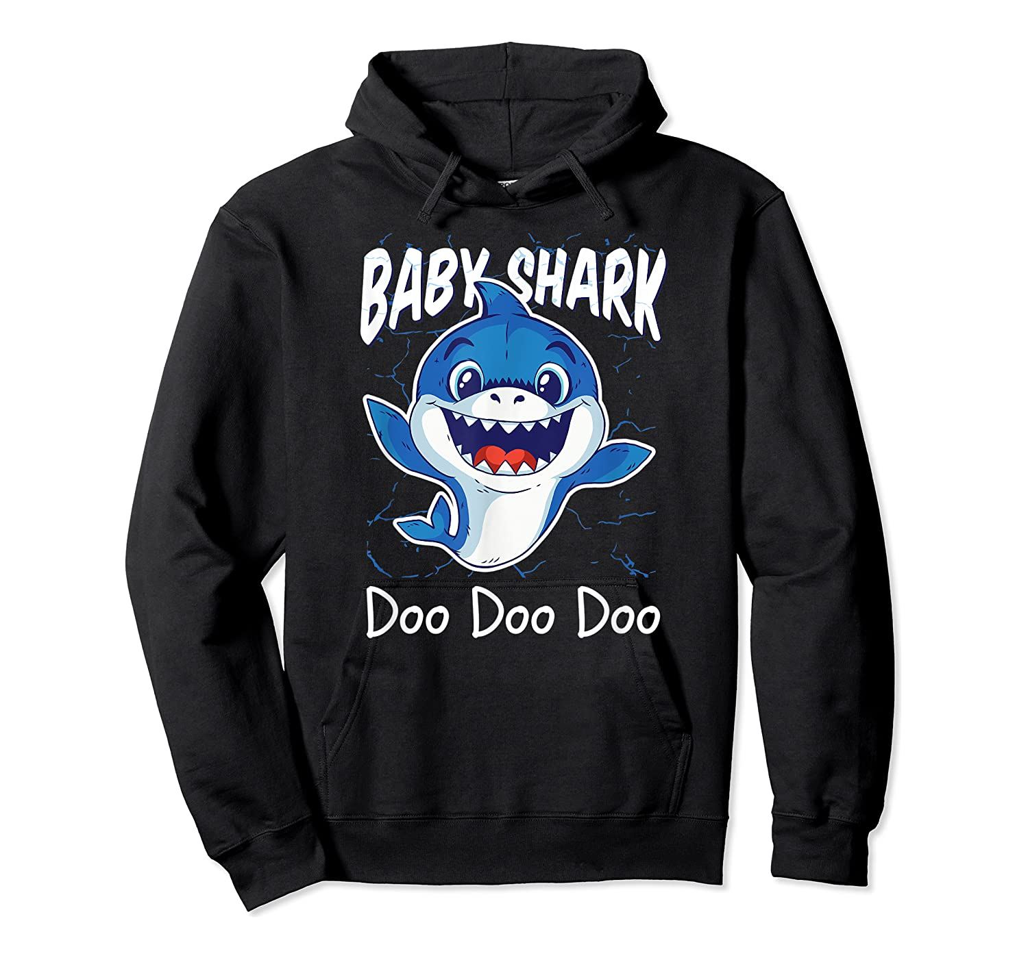 Baby Shark Doo Doo Birthday Party Gifts Girl Boy Out T-shirt Unisex Pullover Hoodie