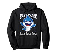 Baby Shark Doo Doo Birthday Party Gifts Girl Boy Out T-shirt Hoodie Black