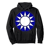 Taiwan Flag Kuomintang Symbol Shirts Hoodie Black
