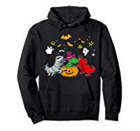 Funny Saurus Halloween Costumes Saurus Lovers Shirts Hoodie Black