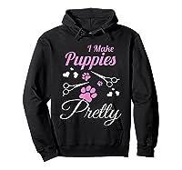 Pet Grooming For Cute Groomer Gift Shirts Hoodie Black
