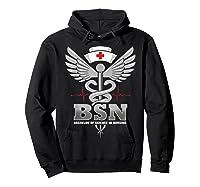 Gift For Bachelor Nurse Nurses Nursing Stay Strong T-shirt Hoodie Black