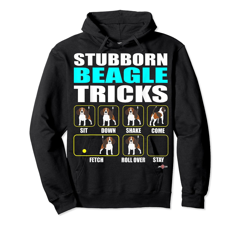 Funbeagle Stubborn Beagle Tricks Beagle Gift Shirts Unisex Pullover Hoodie