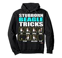 Funbeagle Stubborn Beagle Tricks Beagle Gift Shirts Hoodie Black